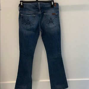 For All Mankind Women's boot cut jeans